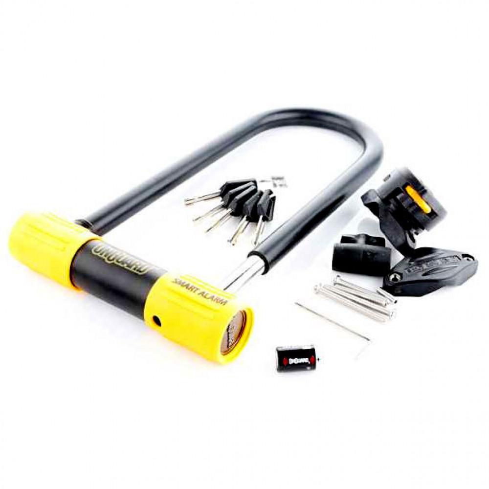 Велозамок Onguard 8268 Smart Alarm U-LOCK (сигнализация)