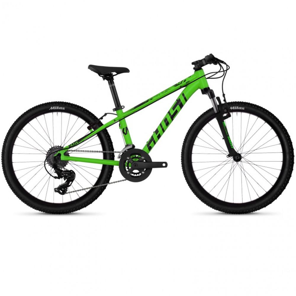 Велосипед 24 Ghost Kato 2.4 Green
