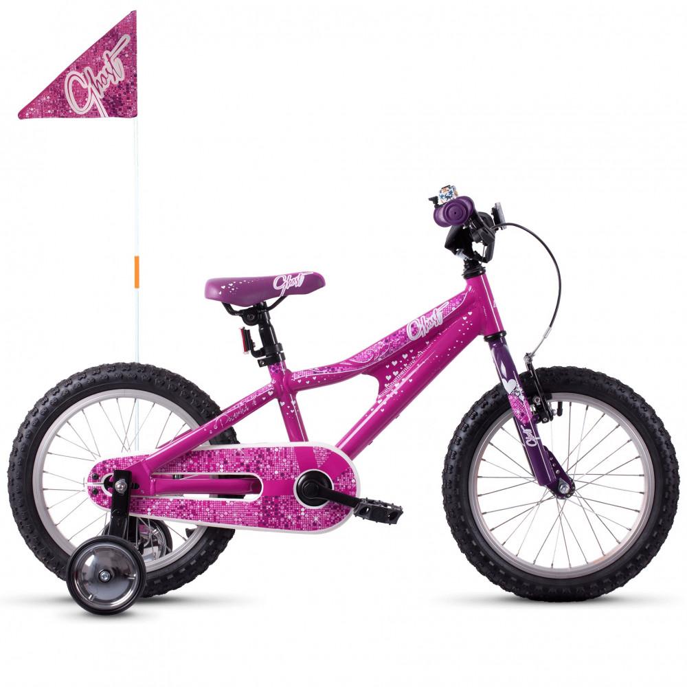Велосипед 16 Ghost PowerKid Girl