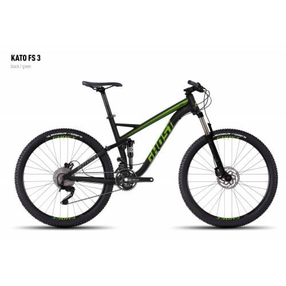 Велосипед 27,5 Ghost Kato FS 3 2017