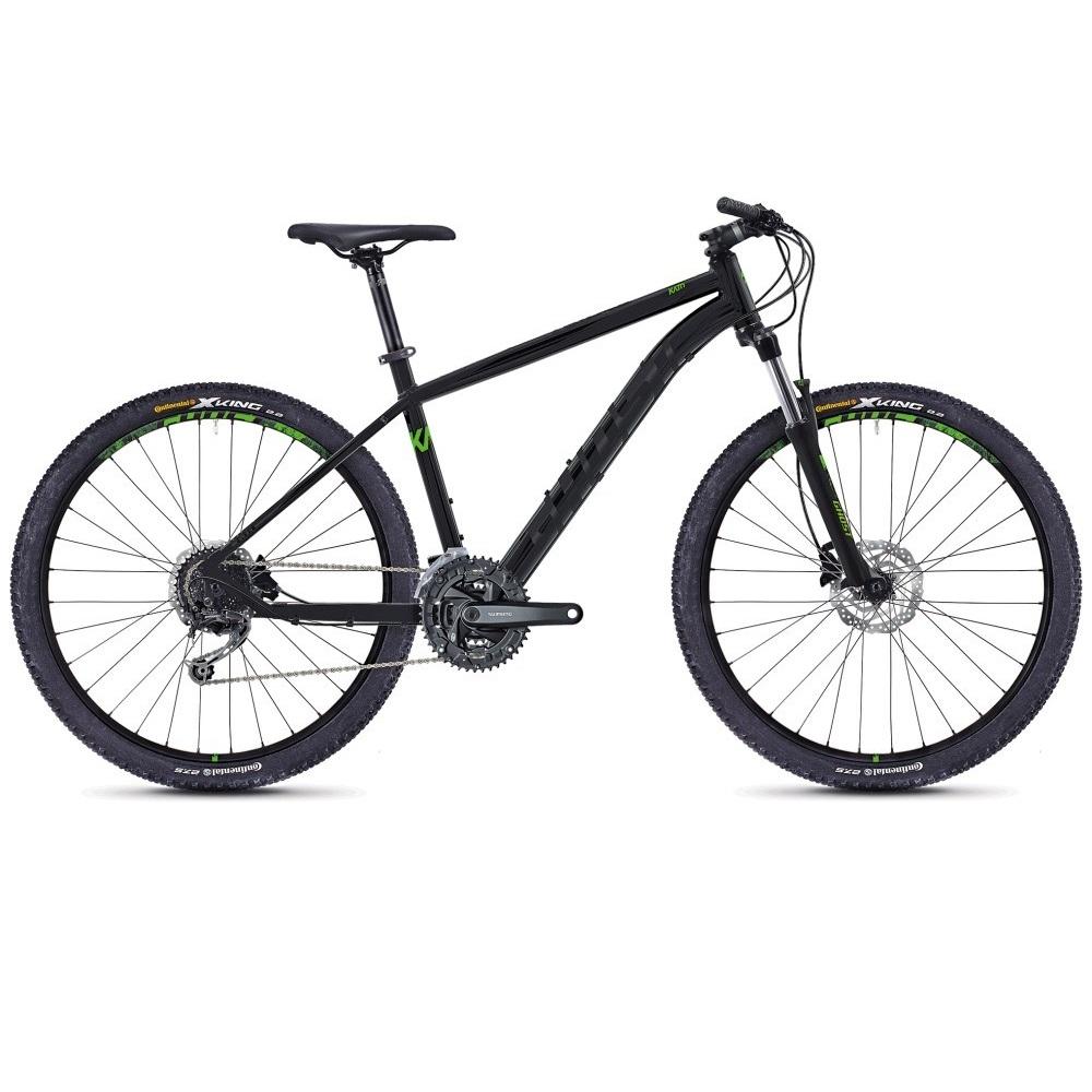 Велосипед 27.5 Ghost Kato 4.7 Black