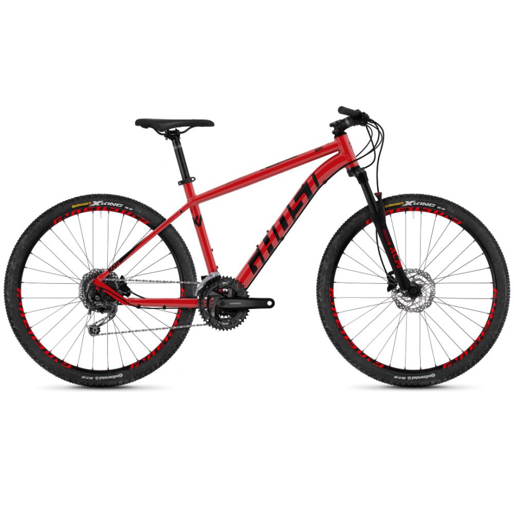 Велосипед 27.5 Ghost Kato 4.7 Red