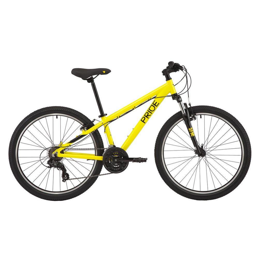 """Велосипед 26"""" Pride Marvel 6.1 yellow"""