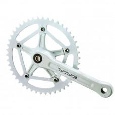 Шатун Prowheel Vive 46T Silver 170mm