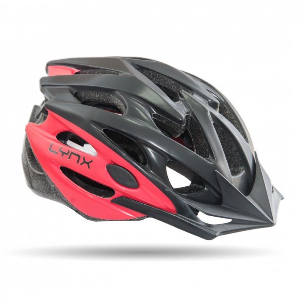 Шлем Lynx Les Gets black-red