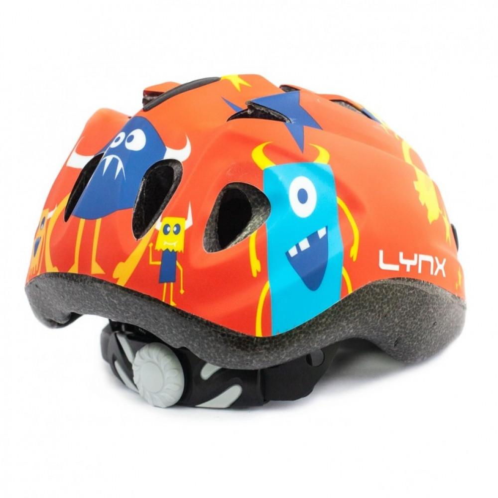 Шлем детский Lynx Kids Red Monsters