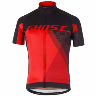Комплект летней формы Ghost Performance Evo красно-черный