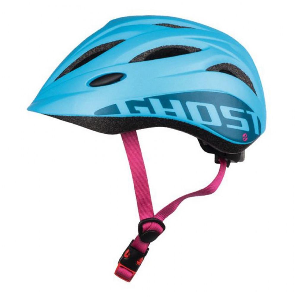 Шлем детский Ghost blue-pink