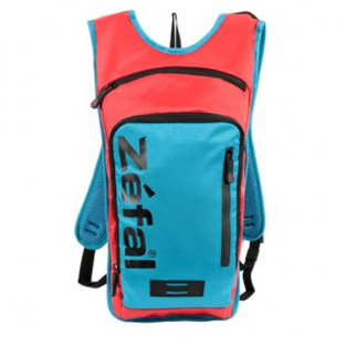 Рюкзак велосипедный Zefal Hydro L blue-red