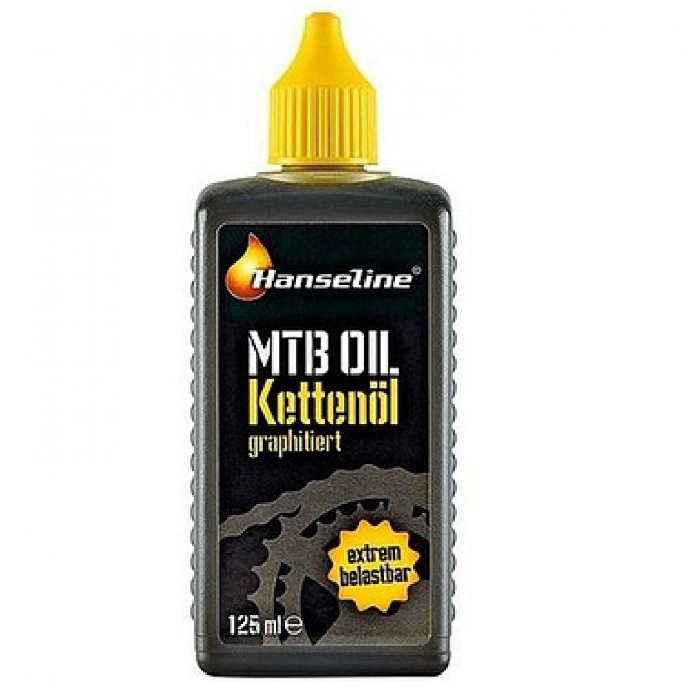 Смазка для цепи HANSELINE MTB-OIL 125 МЛ (графитная)